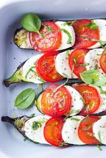 Summer Vegetable Caprese