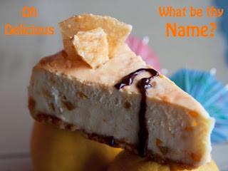 Salvador Molly's Orange Sunshine Cheesecake