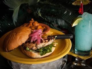 Jerk Chicken and Mango Sandwich